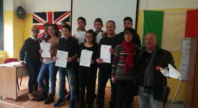Млади спортисти посетиха град Малие в Италия по проект